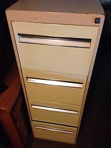 4 draw filing cabinet great used condition Crestmead Logan Area Preview