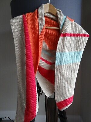 Johnstons of Elgin Knitted Cashmere Stole, Made in Scotland