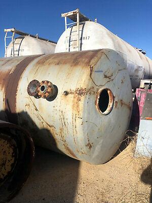 12000 Gallon Steel Tank Water Tank Air Receiver 100 Psi Used Tank