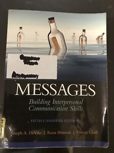 Messages , Building Interpersonal Communication Skills  - $50