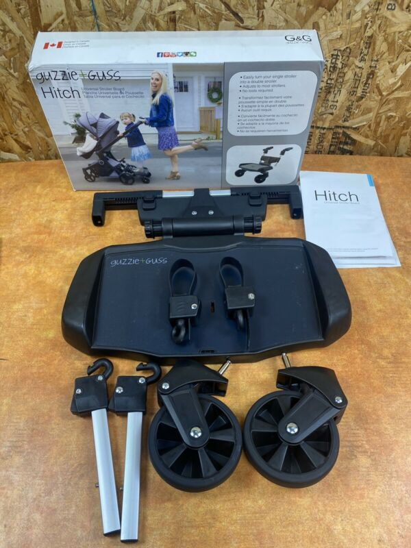 Guzzie+Guss GG017 Hitch Full Suspension Baby Jogger Ride On Stroller Board