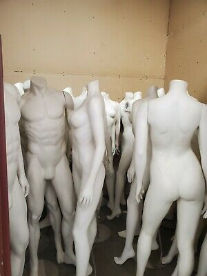 Full Body Mannequins With Stands Male And Female