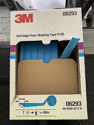 3m 06293 21 Mm X 49 M Soft Edge Foam Tape Plus Open Box