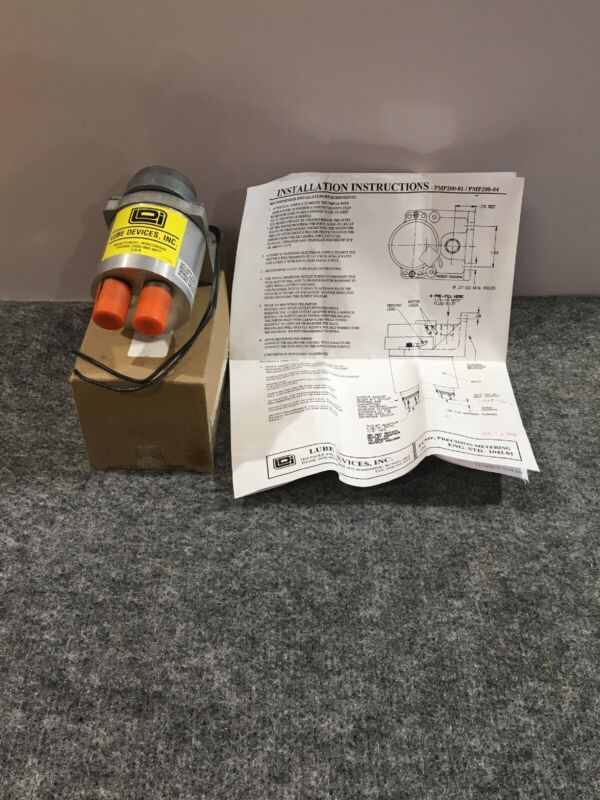 LDI INDUSTRIES PMP200-02 Precision Metering Pump, Autotrol 832570 115V 60Hz 3W