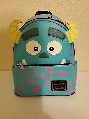 Loungefly Disney Monsters Inc Sully Faux Leather Mini Backpack