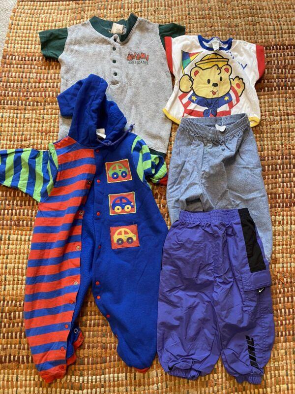 HUGE VINTAGE 90s CHILDREN MIXED CLOTHES LOT Nike Little Me VTG