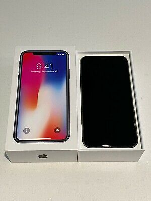IPhone x 256gb Space Grey, unlocked and in great Condition