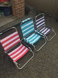 Picnic chairs x 3 Adamstown Newcastle Area Preview
