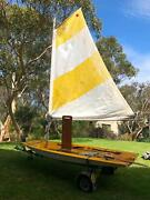 Sailing Dinghy with folding trailer Ingleside Warringah Area Preview