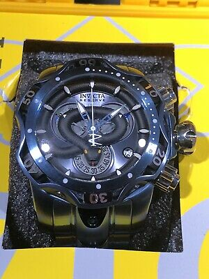 Invicta Reserve Men's 52mm King Venom Swiss Quartz Chronograph Bracelet Watch