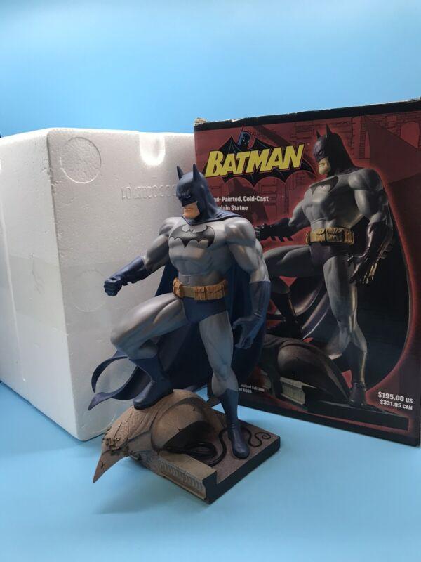 """DC Direct Jim lee Batman Hand Painted Porcelain Statue 11.5"""" LIMITED EDITION"""