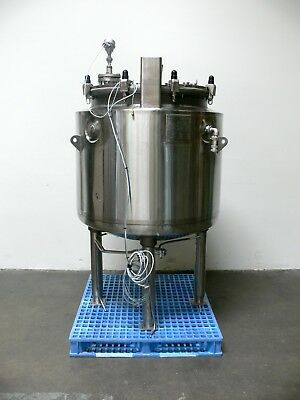 De Dietrich 100 Gallon 375 Liter Stainless Steel Glass Lined Reactor W Impeller