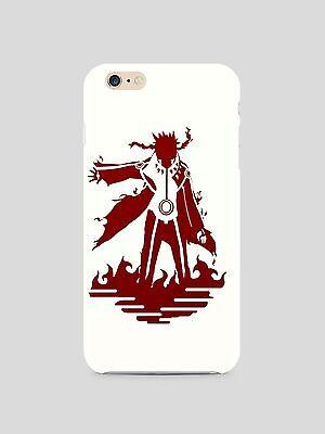 Naruto Fox Chakra Iphone 4s 5s 5c 6S 7 8 X XS Max XR Plus Case Cover SE 23 ()