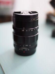 Voightlander 25mm 0.95 M4/3
