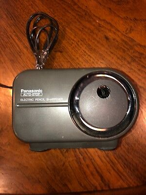 Panasonic Auto-stop Electric Pencil Sharpener Kp-350