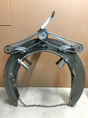 Mathey Dearman Pipe Beveling Machine 3sa 12 - 20 Cutting Welding Torch Bracket