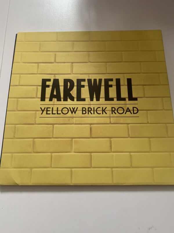 Elton John Farewell Yellow Brick Road Tour Programme