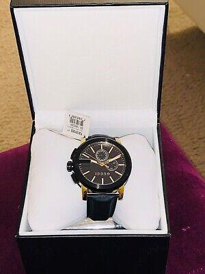 Gucci YA101203 G Chrono Wrist Watch for Men -  Black