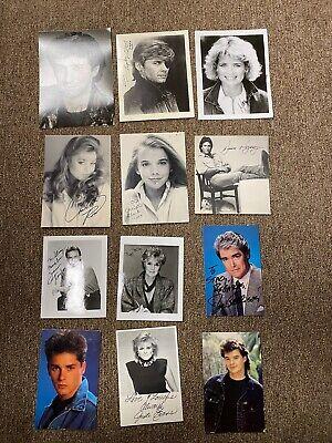 Celebrity Autograph Collection Cast days of our lives TV soap opera (Soap Opera Days Of Our Lives Cast)
