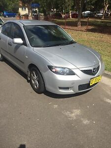 Mazdah 3 2008 Guildford Parramatta Area Preview