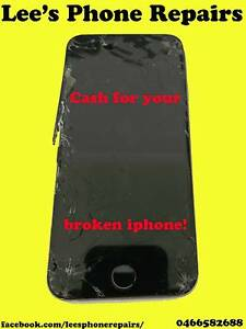 SELL YOUR OLD BROKEN OR CRACKED IPHONE FOR INSTANT CASH NOW!!! Mount Warren Park Logan Area Preview
