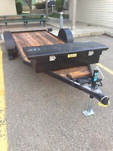 AWESOME FLAT DECK TRAILER 16ft
