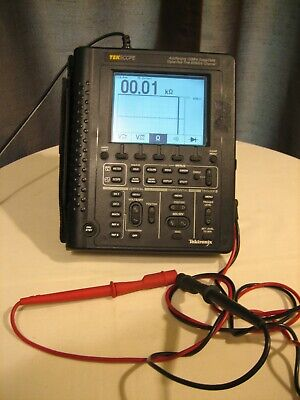 Tektronix Tekscope Digital Real Time Oscilloscope Ths720 100mhz Scope