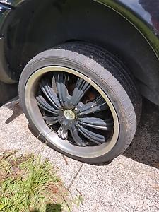 "Black 20"" G2 wheels Arcadia Vale Lake Macquarie Area Preview"