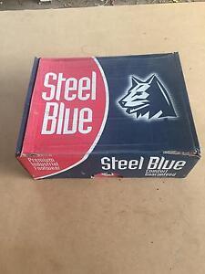 Blue Steel Work Boots Regents Park Logan Area Preview