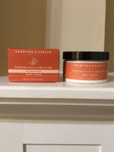 Crabtree & Evelyn Pomegranate & Argan Oil Nourishing Body Cr