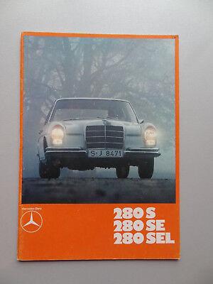 V01240 MERCEDES 280S - 280SE - 280SEL (W108)