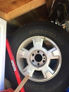 Ford F-150 rims and tires