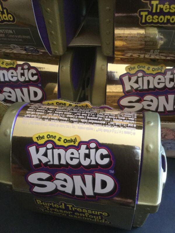 Kinetic Sand Buried Treasure 1 Treasure BNIP Free Shipping
