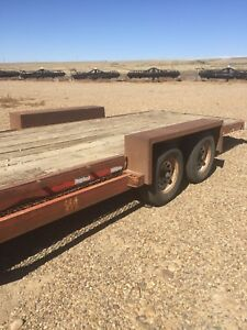 8x26 flat Deck trailer.  May trade for quad
