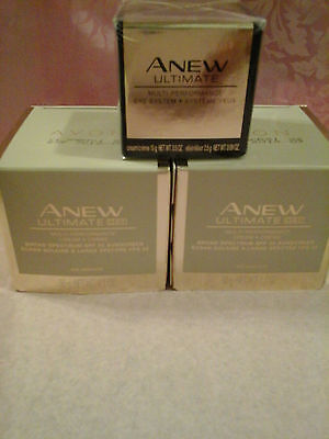 (AVON ANEW ULTIMATE GOLD (7s  IS Discontinued) TWO Day Creams SPF25 AND Eye Cream)