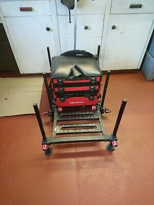 Diawa D100SB Seat Box - in excellent used condition -  foot plate and wheels