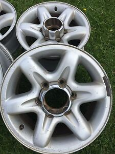 Holden frontera 16 inch alloy rims Caroline Springs Melton Area Preview
