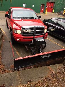 2004 DODGE RAM 1500 4x4 FOR SALE WITH PLOW