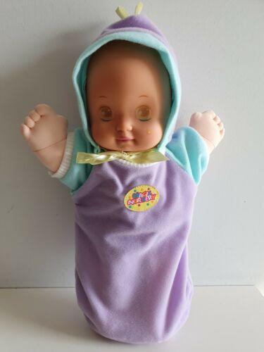 Magic Nursery Baby Doll MATTEL 1989 MAGIC SLEEP EYES