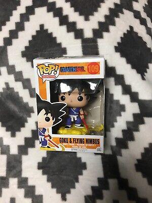 Funko Pop! Dragonball Goku & Flying Nimbus Animation #109