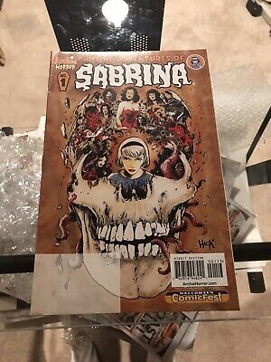 Halloween Comics Fest (Chilling Adventures Of Sabrina #1 Halloween Comic Fest 2015 Variant, Great)