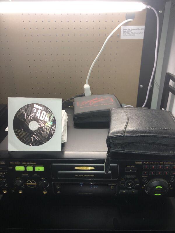 RSQ RSQ-SV222 NTSC/PAL Video CD VCD 2.0 Karaoke Player W/ Over 60 Karaoke CDG'S