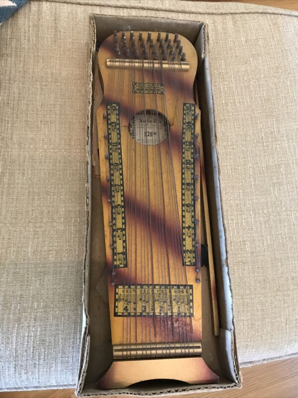 Antique Wooden Violin Uke - Marxo Chime Colony - New Troy, Mich!