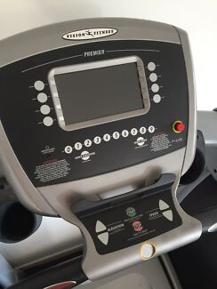 Treadmill VISION FITNESS t9550 with tv input and usb Helensvale Gold Coast North Preview
