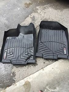 Ford Edge weathertech mats