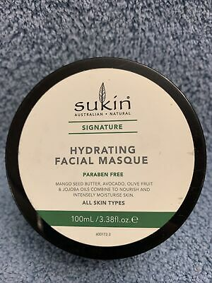 Sukin Signature: Hydrating Facial Masque, Intensely Moisturizes Skin 3.38 Fl oz