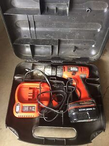 Black and Decker Drill and Circular saw