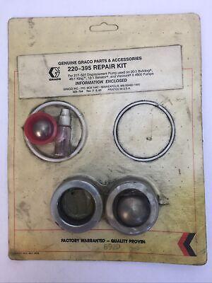 Graco Repair Kit 220-395 For 217-527 Displacement Pump Used On 201 Bulldog 451