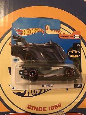 2017 HOT WHEELS SUPER TREASURE HUNT Batmobile DC Rare Euro Short Card 🔥