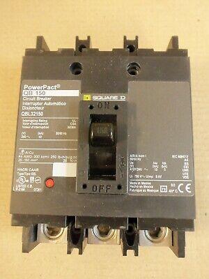 New Square D Qbl Qbl32150 3 Pole 150 Amp 240v Circuit Breaker Powerpact Nto